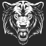 Cabeza del lobo feroz