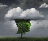 Cabeza en la nube libre illustration