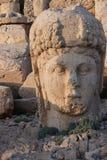Cabeza gigante de la diosa Tyche Foto de archivo libre de regalías