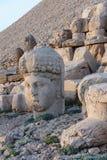 Cabeza gigante de la diosa Tyche Imagen de archivo libre de regalías