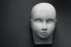 Cabeza humana vacía del maniquí Imágenes de archivo libres de regalías