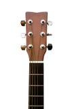 cabeza y cuello de una guitarra Fotos de archivo libres de regalías