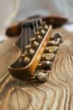 Cabezal de la guitarra Imagenes de archivo