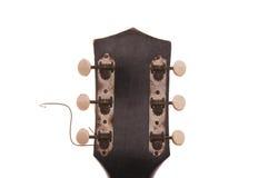 Cabezal de la guitarra de la vendimia Imagenes de archivo