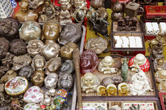 Cabezas de Budda Imagen de archivo libre de regalías