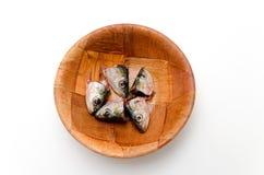Cabezas de los pescados Imagen de archivo libre de regalías