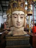 Cabezas de Narayana Fotografía de archivo libre de regalías
