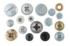 Cabezas de tornillo Fotos de archivo