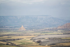 Cabezo de Casteldetierra from far Royalty Free Stock Photo