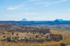 Cabezon-Landschaft im Wüstensüdwesten Lizenzfreie Stockfotografie