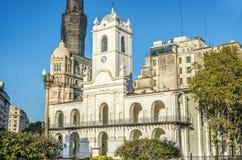 Cabildo大厦在布宜诺斯艾利斯,阿根廷 免版税库存照片