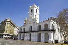 Cabildo budynek, Buenos Aires Zdjęcia Royalty Free