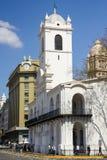Cabildo budynku fasada jak widzieć od placu de Mayo , Buenos Aires, Argentyna zdjęcie stock