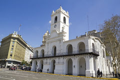 Cabildo building, Buenos Aires Royalty Free Stock Photos