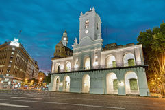 Cabildo building at Buenos Aires, Argentina Stock Photos