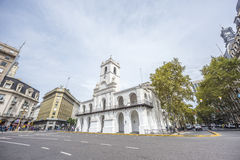 Cabildo building in Buenos Aires, Argentina Royalty Free Stock Image