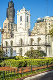 Cabildo building in Buenos Aires, Argentina. Cabildo building facade as seen from Plaza de Mayo in Buenos Aires, Argentina Royalty Free Stock Photos
