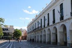 Cabildo de CA? ³ rdoba -香港大会堂科多巴阿根廷 免版税库存图片