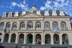 Cabildo on the North of Jackson Square in New Orleans royalty free stock photography