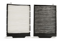 Cabin air filter stock image