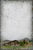 Cabin Background Stock Image