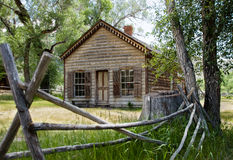 Cabin--Bannack Ghost Town Royalty Free Stock Image