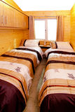 Cabin bedroom Royalty Free Stock Photography