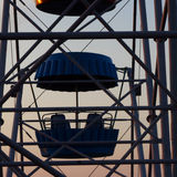 Cabin of a big wheel Royalty Free Stock Photos