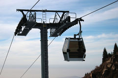 Cabin cableway Royalty Free Stock Photos