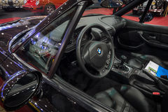 Cabin of the compact luxury sports car BMW Z3M, 1999 Stock Image