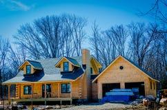 Cabin Construction royalty free stock photo