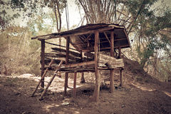Cabin, cottage, shanty, shack Royalty Free Stock Photos