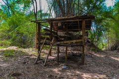 Cabin, cottage, shanty, shack Royalty Free Stock Photography