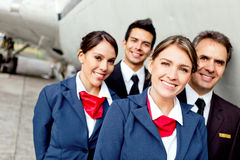 Cabin crew Stock Photography