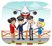 Cabin crew Stock Photos