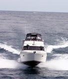 Cabin Cruiser. Fast Cabin Cruiser on Lake Michigan Stock Photography