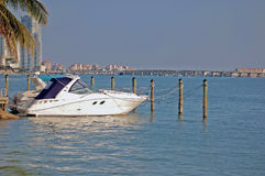 Cabin Cruiser Royalty Free Stock Photo