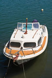 Cabin cruiser. Stock Image