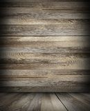 Cabin dark interior backdrop Royalty Free Stock Photography