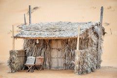 Cabin Desert Camp Oman Stock Photography