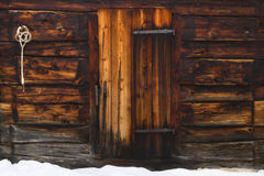 Cabin door Stock Images