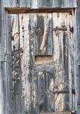 Cabin door in Norway Royalty Free Stock Images
