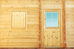 Cabin door Stock Image