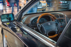 Cabin of executive car Lancia Kappa Coupe 3.0 V6, 1998 Royalty Free Stock Images