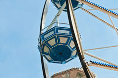 Cabin of ferris wheel on a clear day Stock Photos