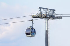 A cableway Stock Image