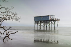 Cabin on Hunting Island Royalty Free Stock Photos