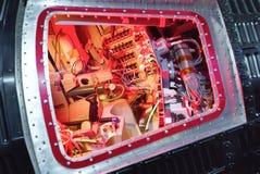 Cabin interior of spaceship Mercury Stock Images