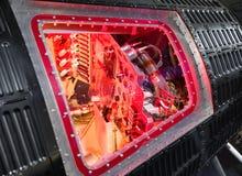 Cabin interior of spaceship Mercury Stock Photography