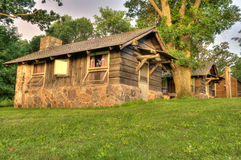 Cabin in Iowa Royalty Free Stock Photography